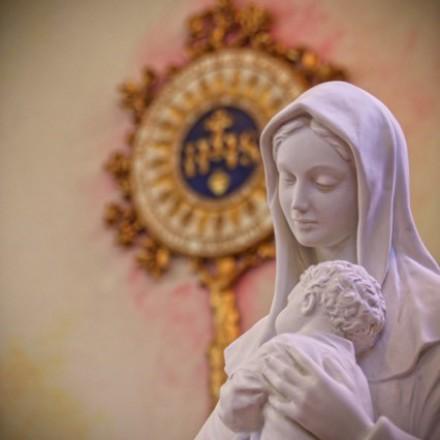 Benedizione statua della Beata Vergine Maria