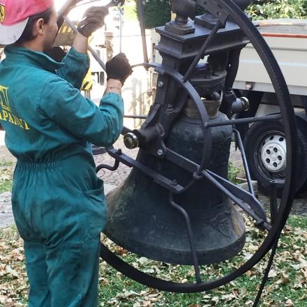 Lavori di restauro campane