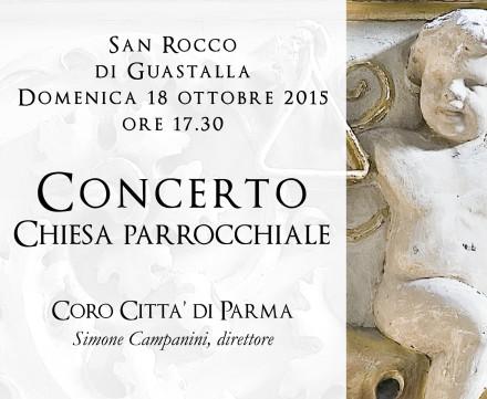Chiesa di San Rocco: concerto Coro Città di Parma domenica 18 ottobre