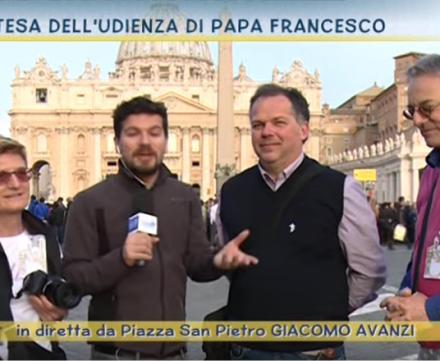 I nostri Pellegrini intervistati da TV2000!