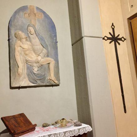 Mercoledì delle Ceneri 2017: inaugurazione cappella della Deposizione