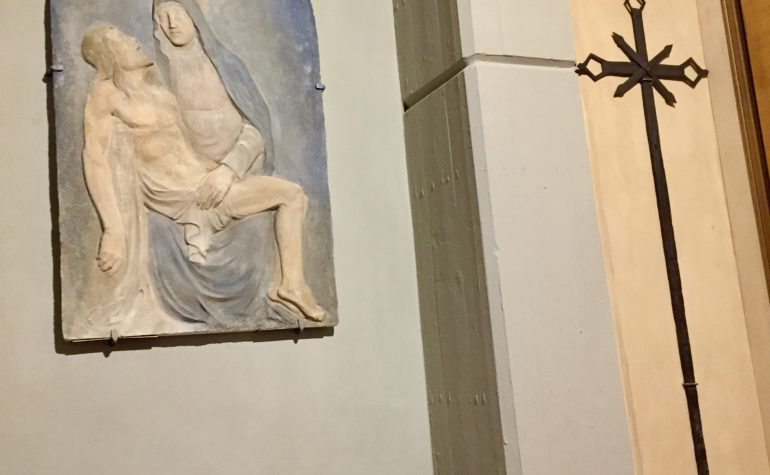 """Mercoledì delle Ceneri: inaugurata la """"Cappella della Deposizione"""""""