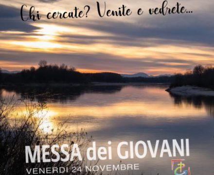 Venerdì 19 gennaio: S. Messa per i Giovani a San Giacomo