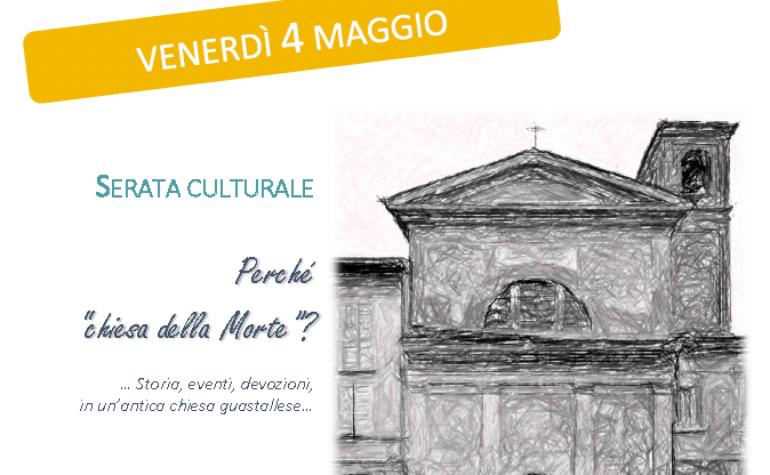 Venerdì 4 maggio: serata culturale a cura della Prof.ssa Elisa Bertazzoni