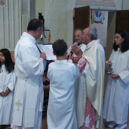 Festa di San Rocco: benedizione della nuova campana