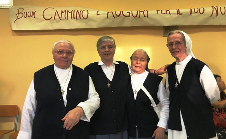 Domenica 2 settembre: il saluto delle Comunità a Suor Giuseppina