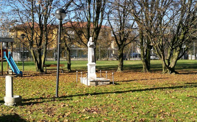 Benedizione targa Statua Sacro Cuore