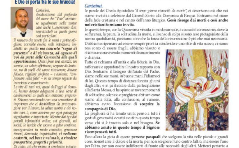 """Notiziario dell'Unità Pastorale """"Voce della Comunità cristiana"""": consulta l'edizione on-line"""